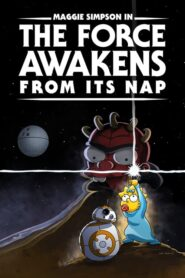 Maggie Simpson in The Force Awakens from Its Nap